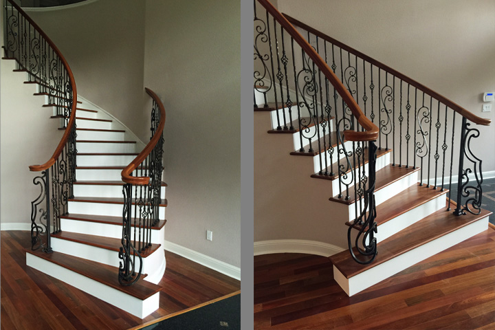 Circular And Winding Stairs | Custom Design | Costruction | Installation |  San Jose, CaliforniaSan Jose, California